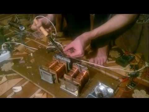 видео: перемотка трансформатора. часть 2