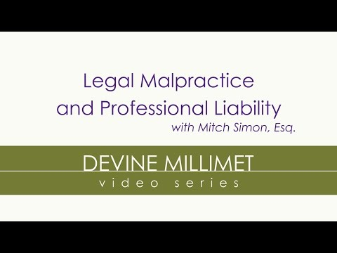 Legal Malpractice & Professional Liability with Mitch Simon