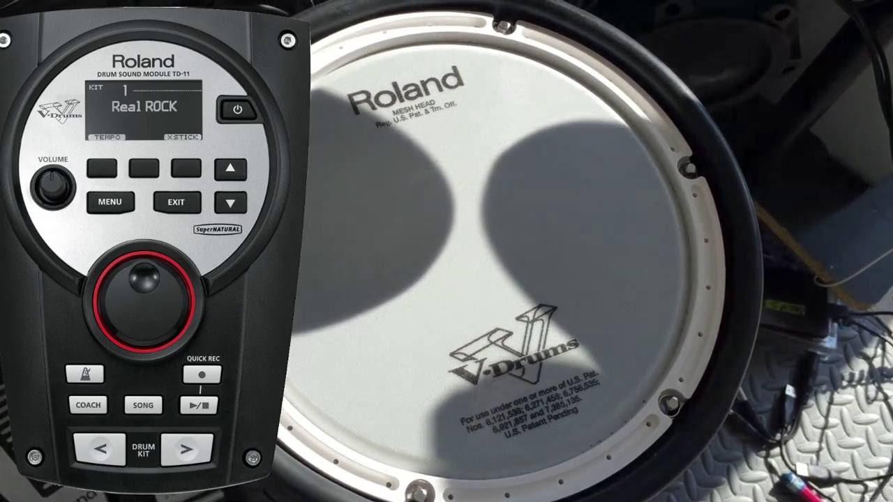 Roland TD-11KV Cover: Nene Malo - Como me gusta la noche - YouTube