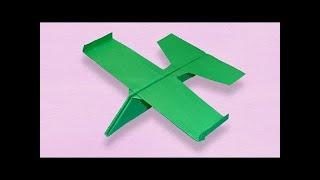 كيف تصنع طائرة ورقية تعود اليك   طائرة ورقية شراعية  لا تتوقف عن الطيران
