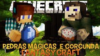 Pedras Mágicas e Corcunda Traidor #04 FantasyCraft - Minecraft