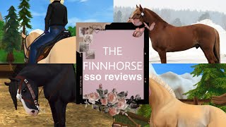 SSO Horse Reviews: The Finnhorse