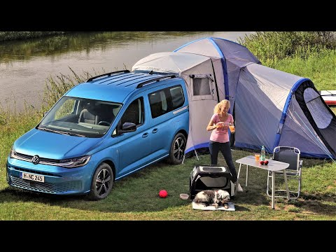 2021 VW Caddy California - Affordable and Versatile Compact Camper Van