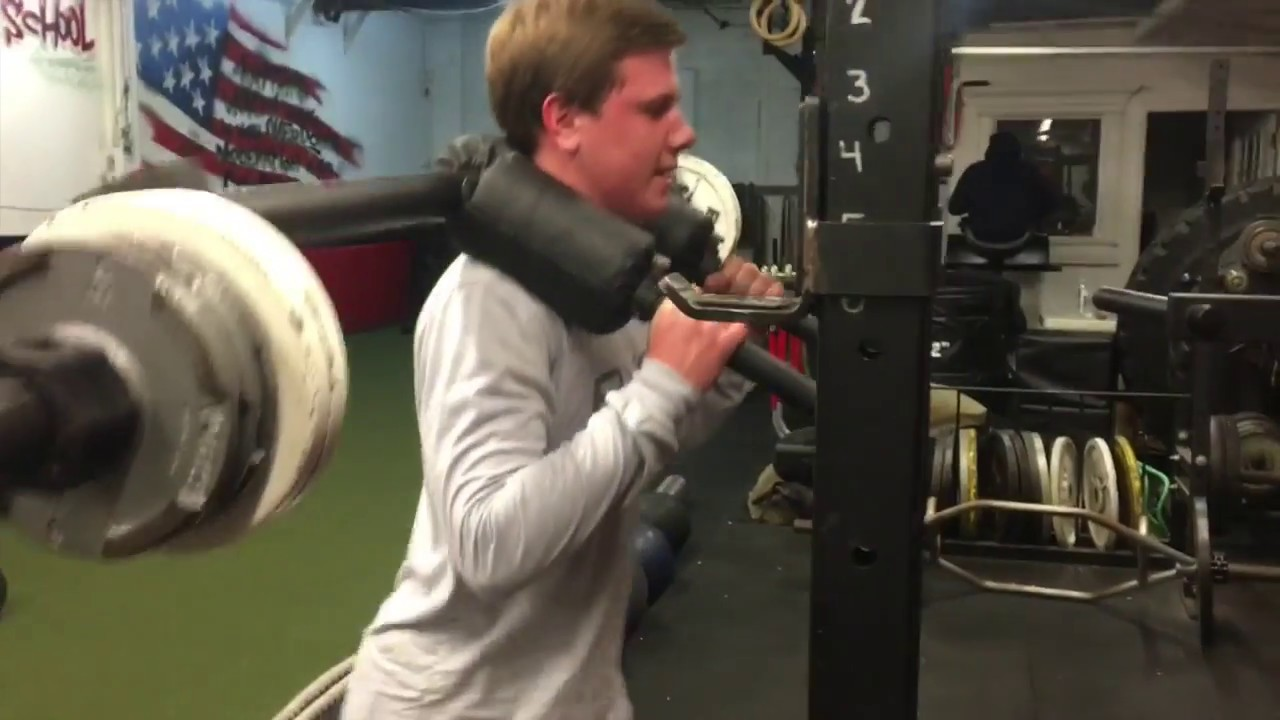High School Strength & Conditioning Session