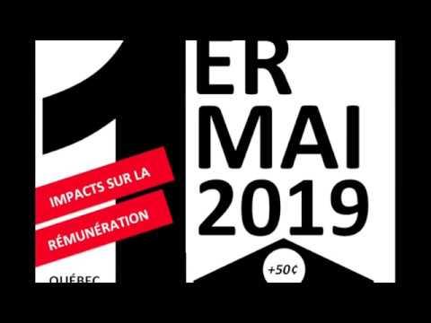 Le Salaire Minimum Au Québec Pour 2019