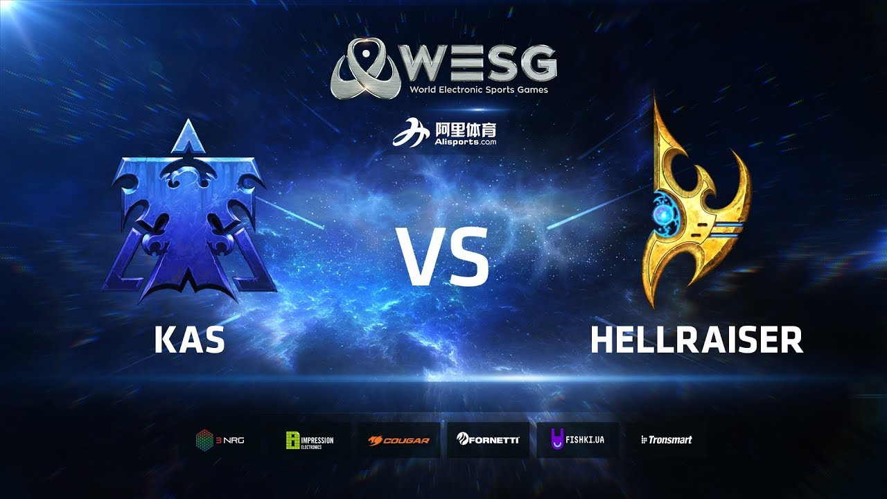 WESG Ukraine - Losers Final: Kas (T) vs HellraiseR (P)