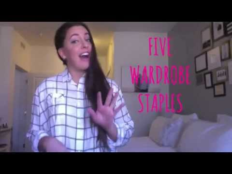 five wardrobe staples