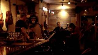 Terje Egeli and Jobo improvazing at a blues jam at Crazy Horse in N...