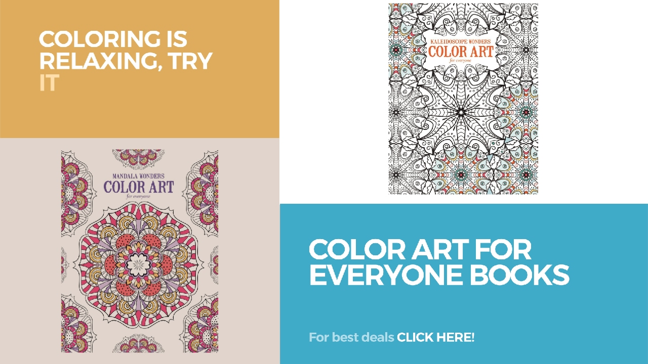 Color art mandala wonders - Color Art For Everyone Books Coloring Is Relaxing Try It