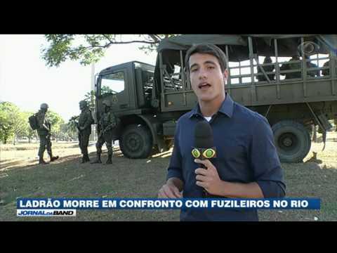 RJ: Ladrão morre em confronto com fuzileiros