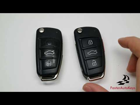 [HOW TO] Audi Key Shell Replacement Tutorial 2005-2013 – Complete
