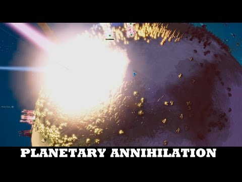 The best match of the year so far - Planetary Annihilation TITANS