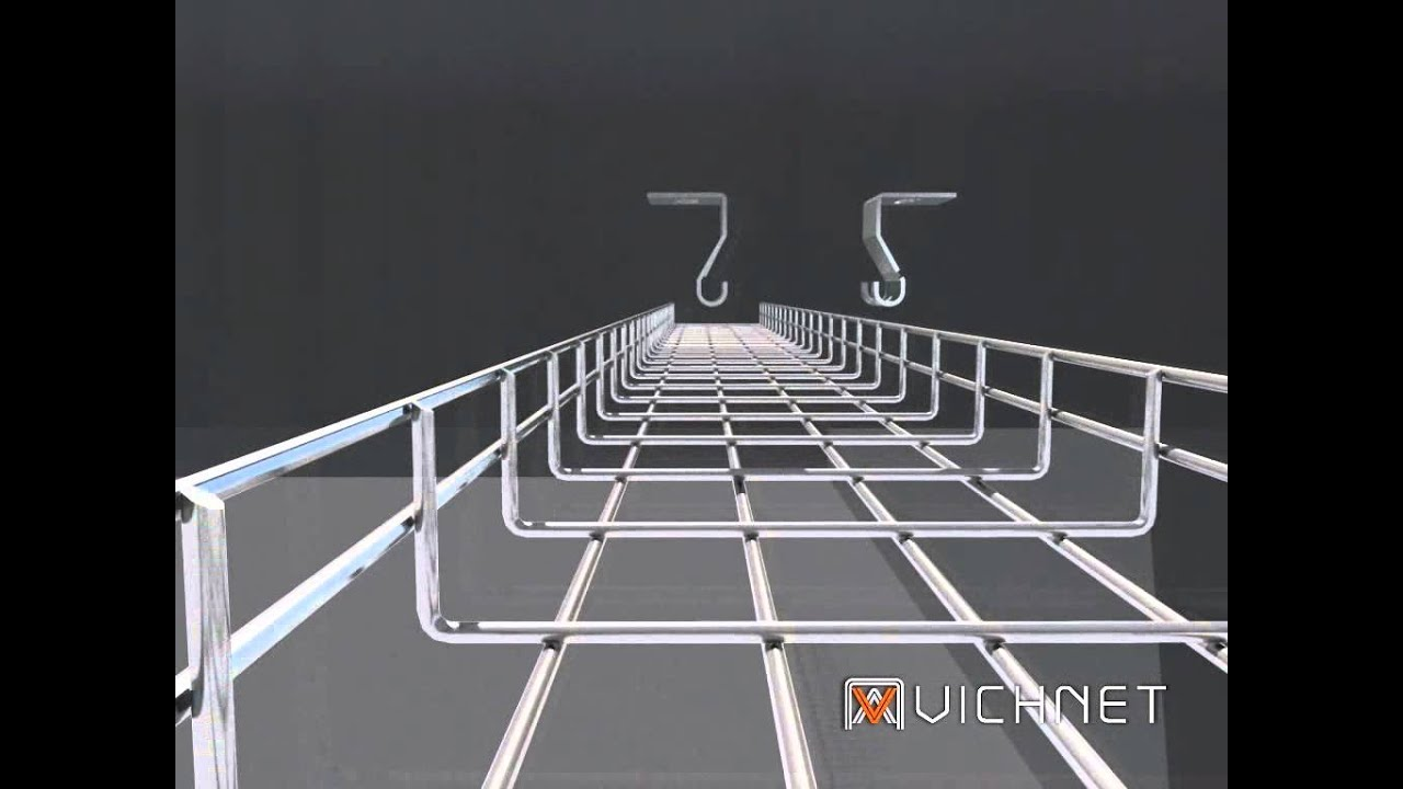 Vichnet:Wire Mesh Cable Tray | Wire Basket Tray | Cable Management ...