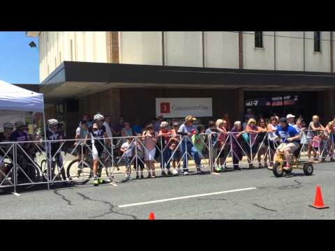 Pigs & Pedals 2015 Trike Race - Randolph Community College