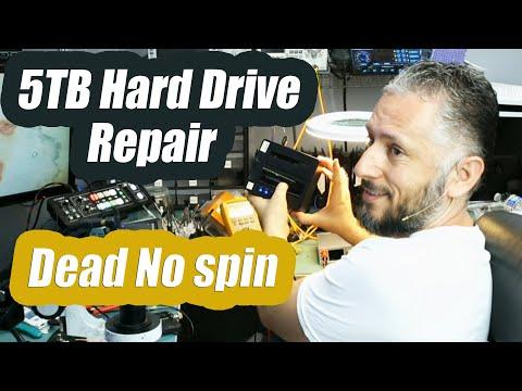 5TB External Hard Drive Repair - Not spinning No power motherboard Repair