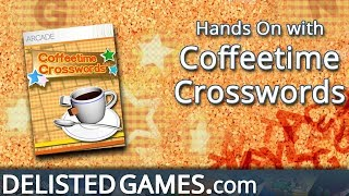 Coffeetime Crosswords - Xbox 360 (Delisted Games Hands On)