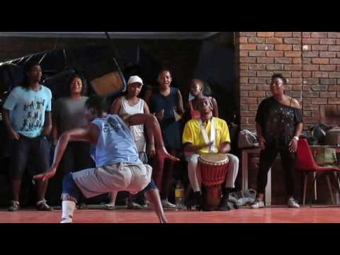 Alexandra Youth in Action Ensemble - early rehearsal for National Arts Festival, South Africa 2016