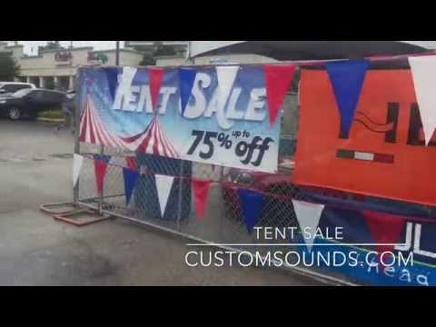 2015 Tent Sale in San Antonio