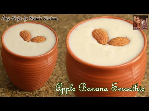 How To Make Apple Banana Smoothie At Home