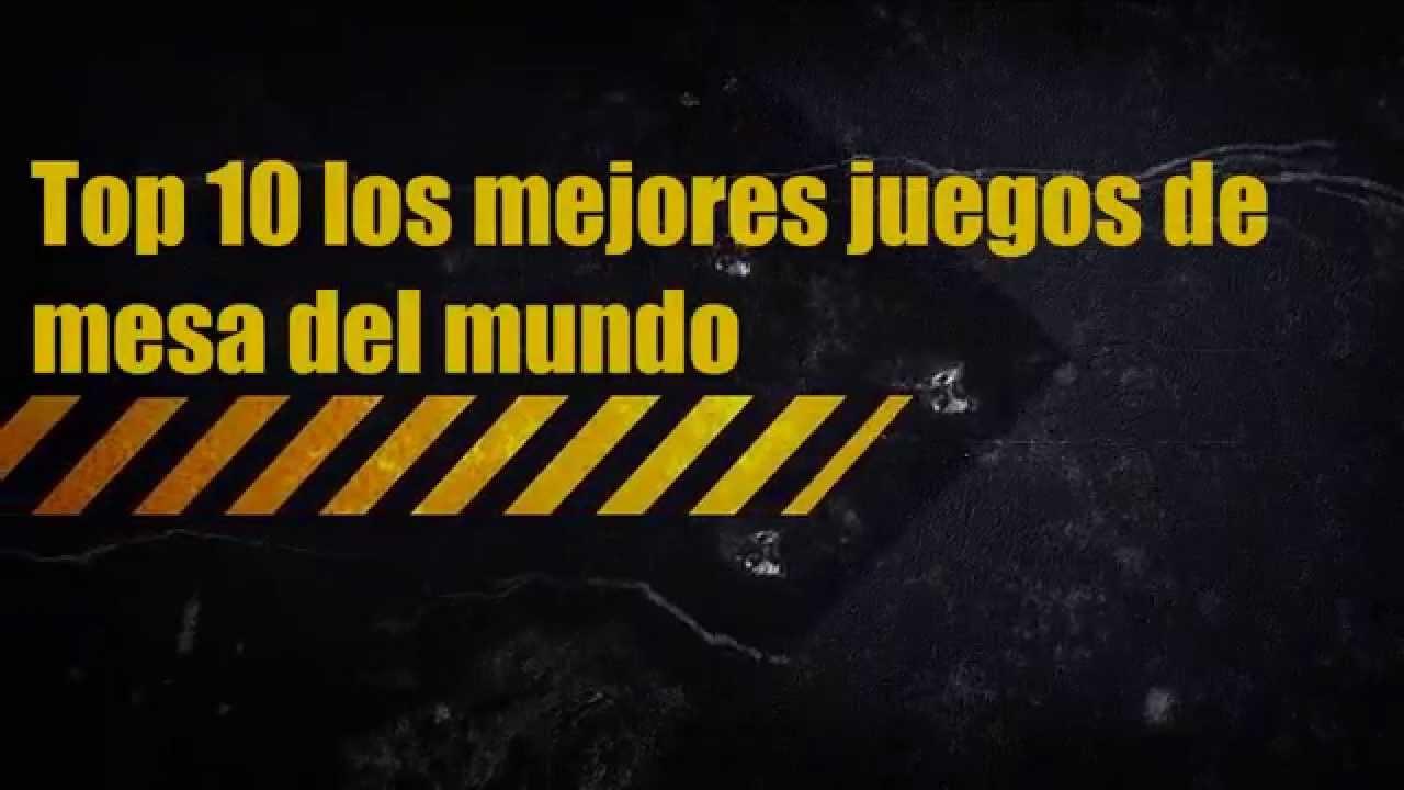 Top 10 Los Mejores Juegos De Mesa Del Mundo Hd Youtube