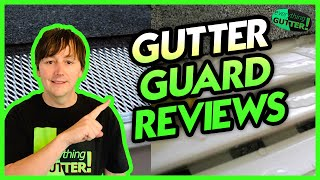 What gutter guard is recommended?