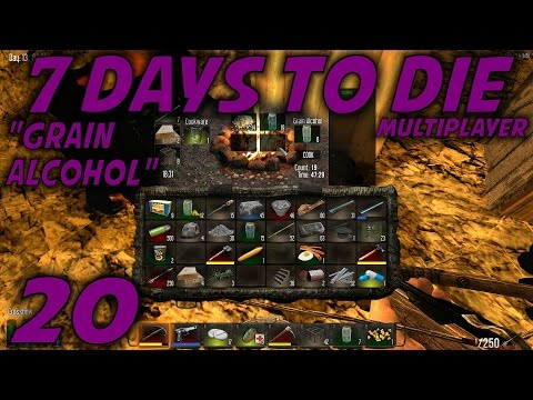 7 Days To Die Alpha 11 Husband & Wife Multiplayer / Let's Play (S-9) -Ep. 20-
