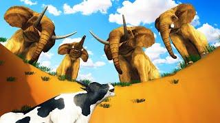 பசுவை காப்பாற்றிய யானைகள் Elephant & Cow Tamil Story | Tamil Moral Stories | Kokku Tv Tamil Stories