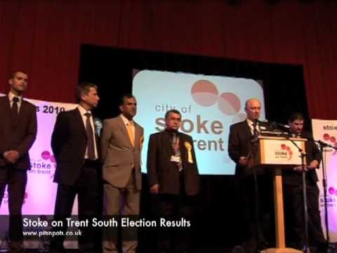 Declaration of Rob Flello as MP for Stoke-on-Trent South