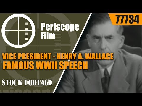 VICE PRESIDENT HENRY A. WALLACE FAMOUS WWII SPEECH  PRICE OF VICTORY  77734