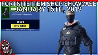 *NEW* Verge Item Set! January 15th New Skins || Daily Fortnite Item Shop