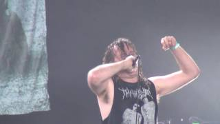 Cattle Decapitation live at Hellfest 2016