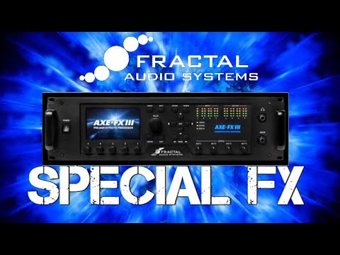 Axe FX III: Ambience & Special FX