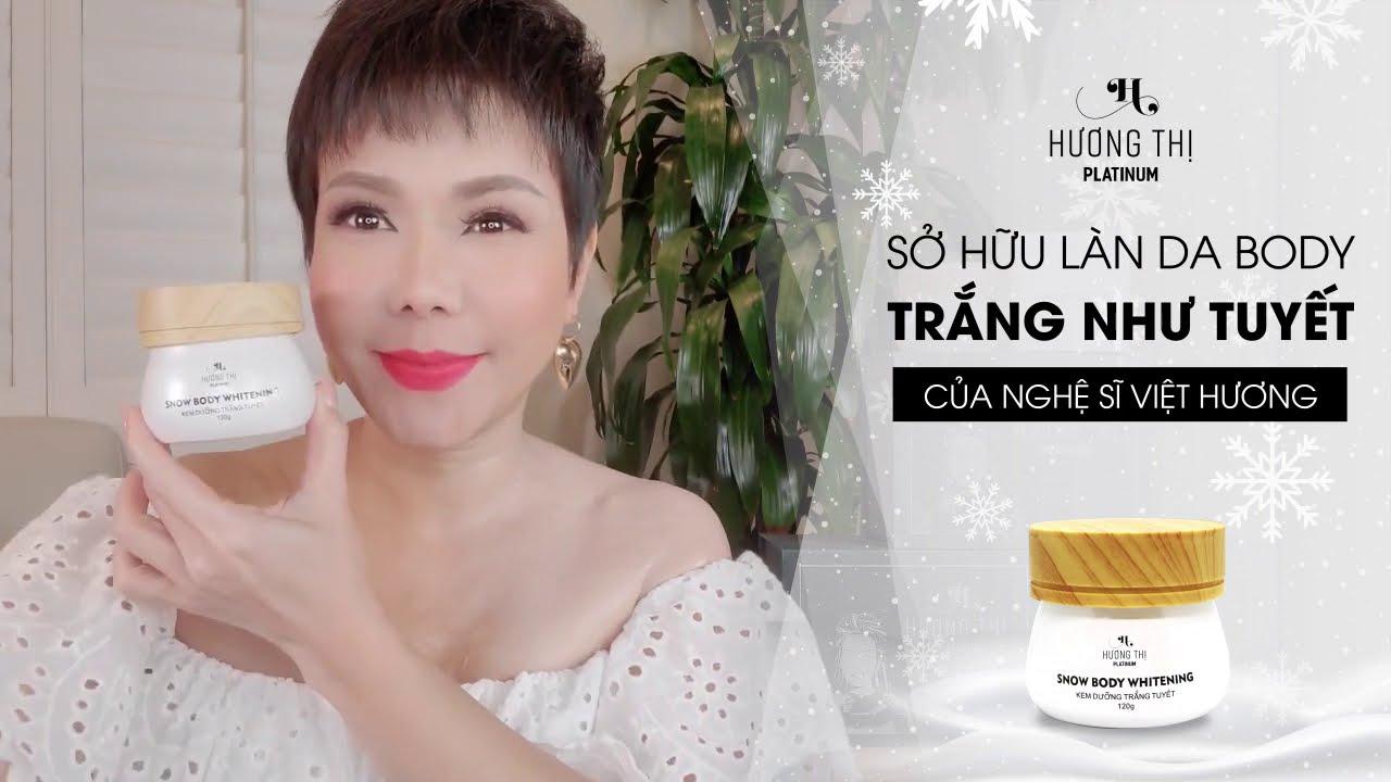 Kem Dưỡng Trắng Tuyết Hương Thị - Snow Body Whitening - YouTube