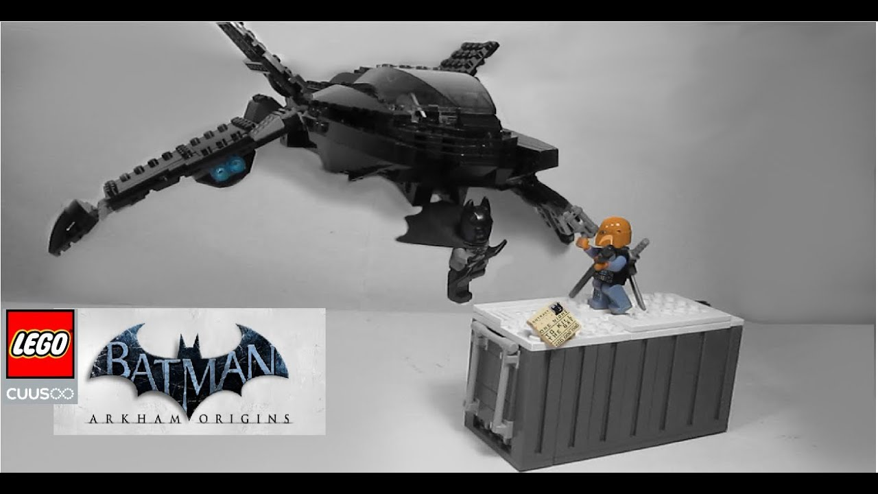 Lego cuusoo batman arkham origins review project batwing smash up