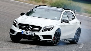 Mercedes-Benz GLA45 AMG tested - is this 355bhp crossover worth £44k?