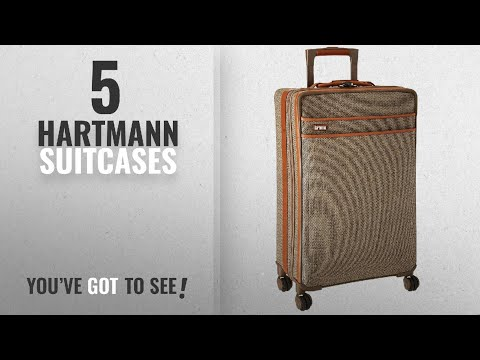 Top 10 Hartmann Suitcases [2018]: Hartmann Tweed Collection Medium Journey Expandable Spinner,
