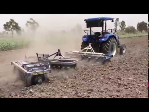 new holland 6010 showing his power ||tractors zone||