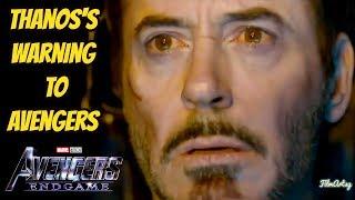 Avengers: Endgame | Thanos Warns Avengers | New TV Spot
