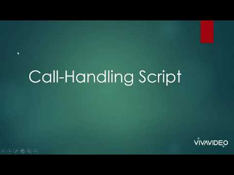 Mock Call Sample Recording: PART 1