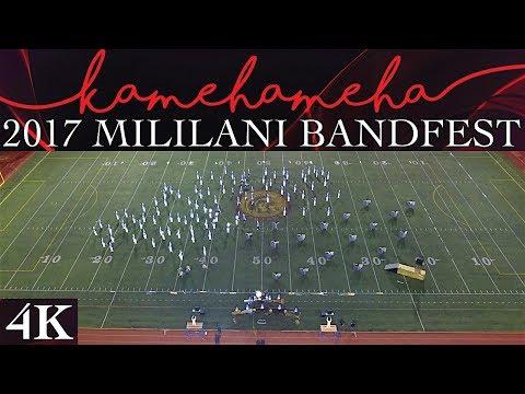 "LIMITLESS   2017 Kamehameha Schools ""Warrior"" Marching Band & Color Guard   Mililani Bandfest"