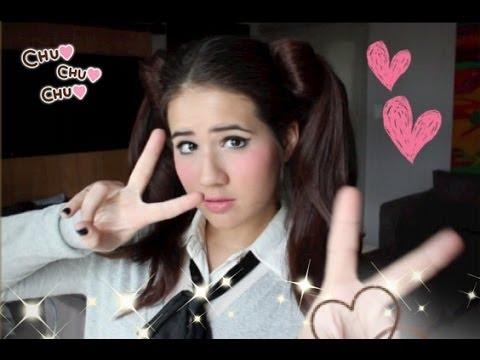 Diy anime schoolgirl costume hair makeup youtube solutioingenieria Choice Image