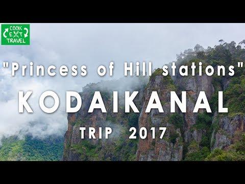 Kodaikanal Hills Travel Vlog 2017 | The Princess Of Hills | Hyderabad To Kodaikanal Trip |