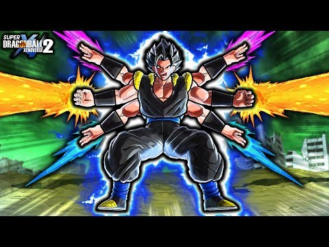THIS NEW FUSION CAN DO ANYTHING! Dragon Ball Xenoverse 2 Custom Gogito ALL Forms & Changing Moveset