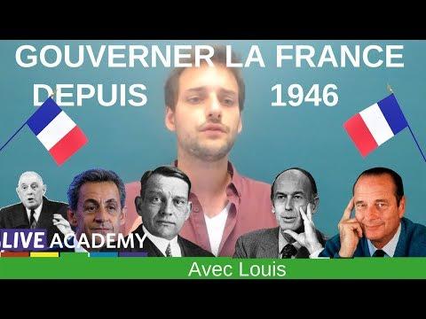 🔎 Gouverner la France depuis 1946 - BAC HISTOIRE TERMINALE 🔍