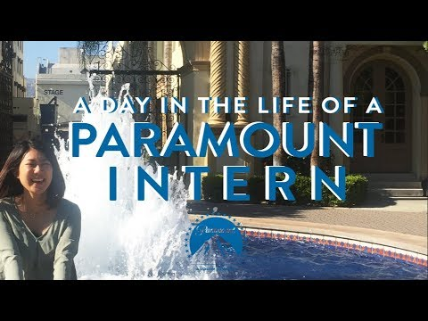 A Day in the Life of a Paramount Intern
