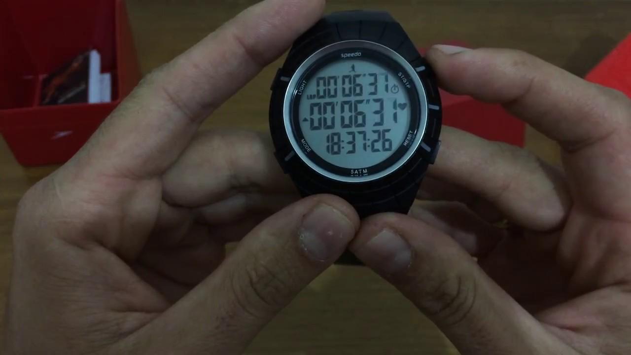 ce2ff5562a37f Review - Monitor Cardíaco Speedo 66002G0EMNP1 - YouTube