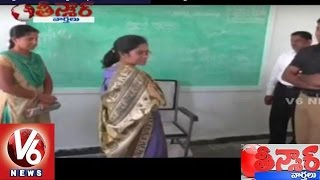 Warangal District Judge inspected Kasturba Gandhi High School - Teenmaar News