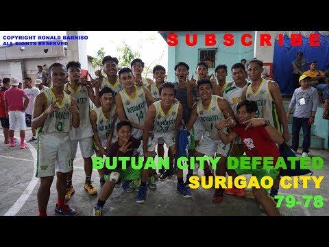 CRAM 2018 CARAGA - BASKETBALL MEN: BUTUAN CITY DEFEATED SURIGAO CITY IN DEADLY 4TH QUARTER (FULL)