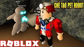 ROBLOX | Built PET Robot Go Lụm Ve Bottle Screw The Underground | Robot Simulator | Vamy Tran