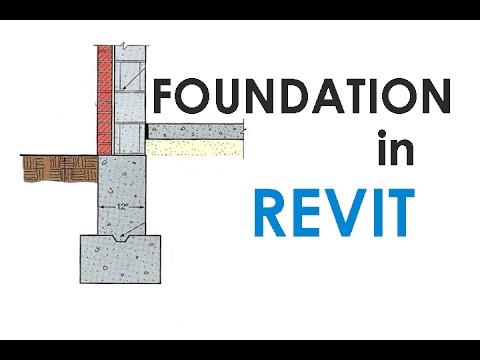 How to model Foundation in Revit
